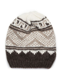 *NEW SEASON* Nordic knit beanie - Inverni