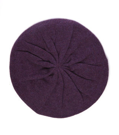 *NEW SEASON* Cashmere Beret - Hush
