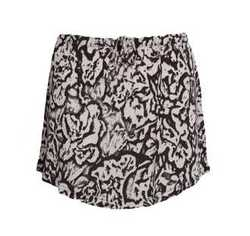 Jersey tonal mini skirt - Majestic