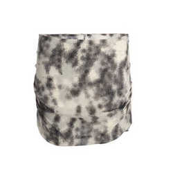 Kitty printed silk mini skirt - IRO