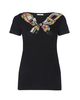 *NEW SEASON* Cotton tee with Neck bow print - Sonia by Sonia Rykiel