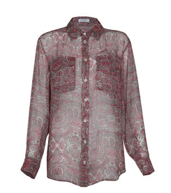 *NEW SEASON* Printed silk shirt - Equipment